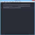 Atomテキストエディタで「行の折り返し」をするには、ソフトラップと右端ガイドの設定が必要