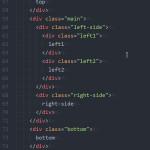 Atomテキストエディタでインデント(字下げ)に縦線を表示して、htmlのタグ構造をわかりやすくする方法