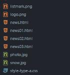 Atomテキストエディタのツリービューとタグにファイルのアイコンを表示するfile-iconsパッケージのインストール方法