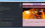 Atomテキストエディタでhtmlをプレビュー画面で確認できるパッケージatom-html-previewのインストール方法・使い方