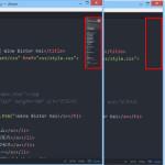 Atomテキストエディタで、minimapの表示・非表示 を切り替える設定方法