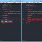 Atomテキストエディタでhtmlのimgタグを超簡単に入力する方法
